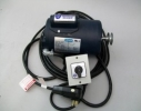 1 hp Leeson TENV  Motor, maintain switch/16 ft cable/in-plug 110 GFCI