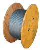"3/16"" 7x19 Stainless Steel wire rope 500' spool Sold by the Roll"
