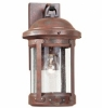 H.S.S. Co-Op Founder collection Copper Outdoor Wall Lantern