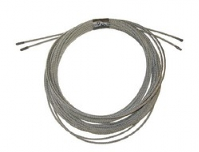 """1/4"""" 7x19 Stainless Steel wire rope cut to length: Stainless Cable"""