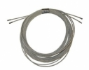 "3/16"" 7x19 Stainless Steel wire rope cut to length"